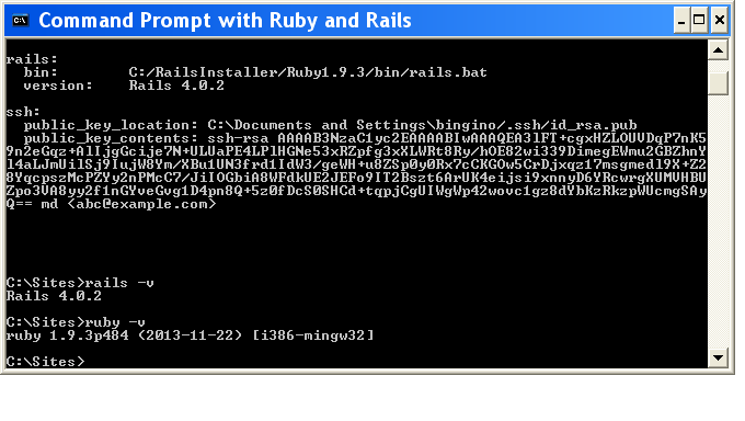 ruby-on-rails-installation