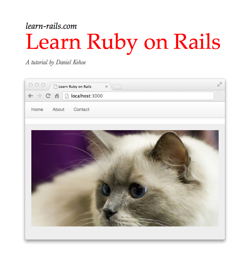 learn ruby on rails book